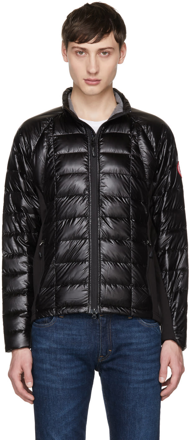 Canada Goose Black Down Hybridge Lite Jacket