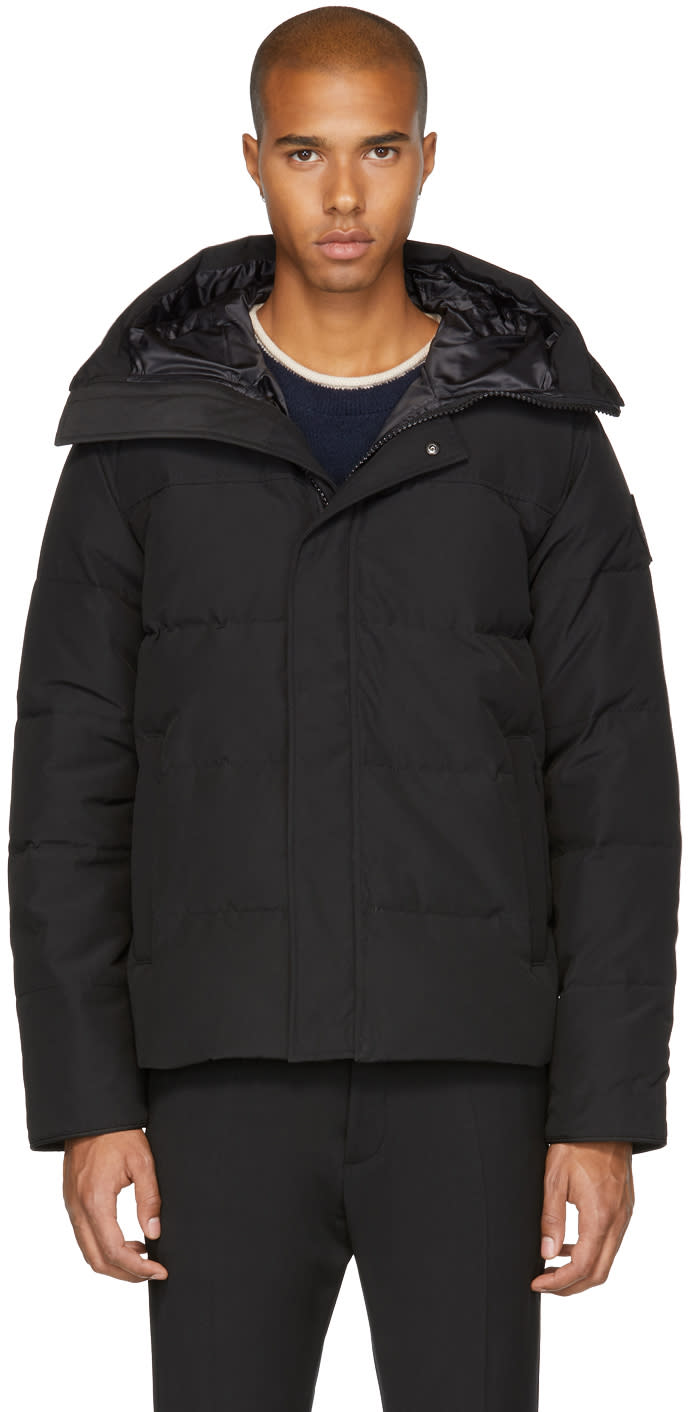 Image of Canada Goose Black black Label Down Macmillian Parka