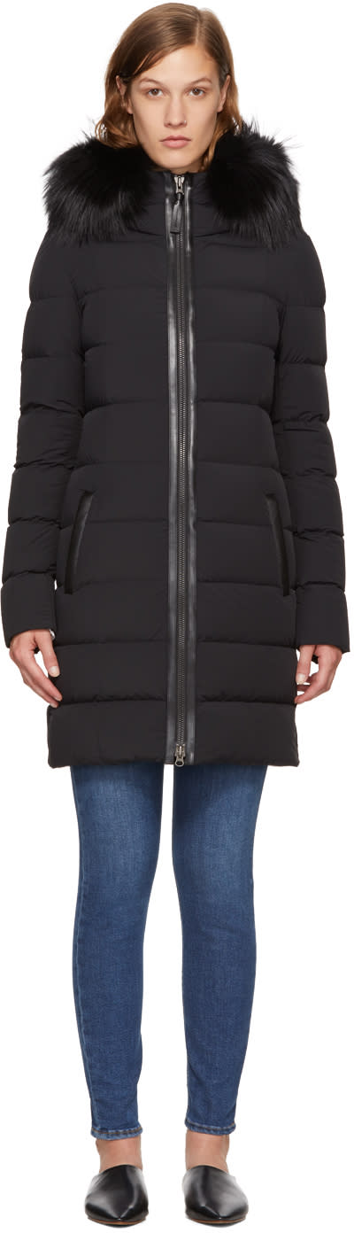 Image of Mackage Black Down Calla Coat