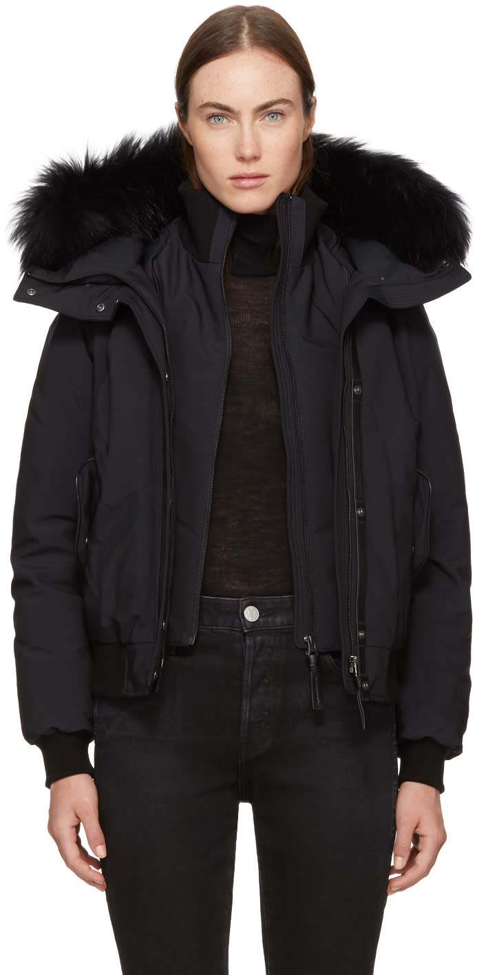 Image of Mackage Black Down Britnie Jacket