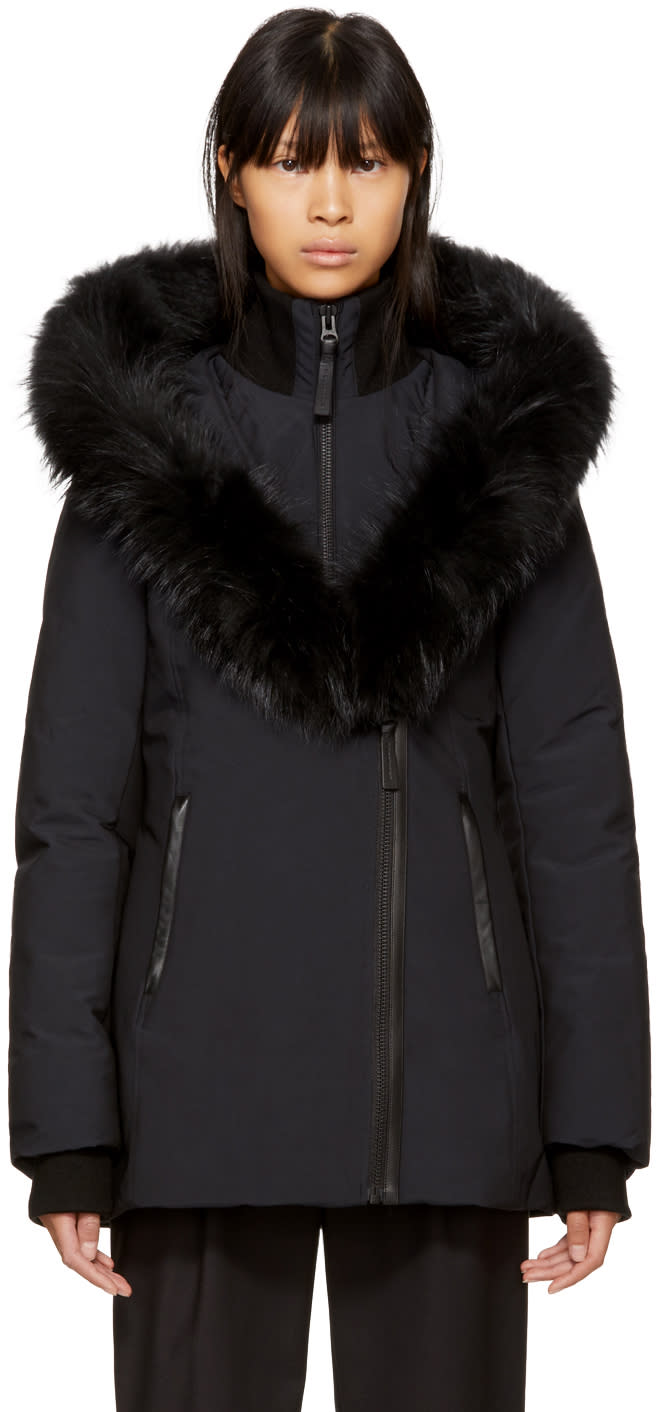 Image of Mackage Black Down Adali Coat