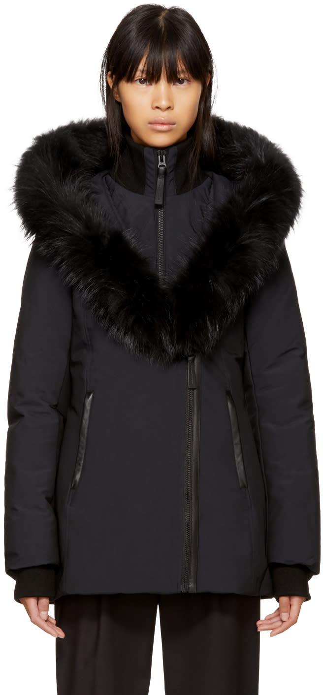 Image of Mackage Black Down Adali Coat