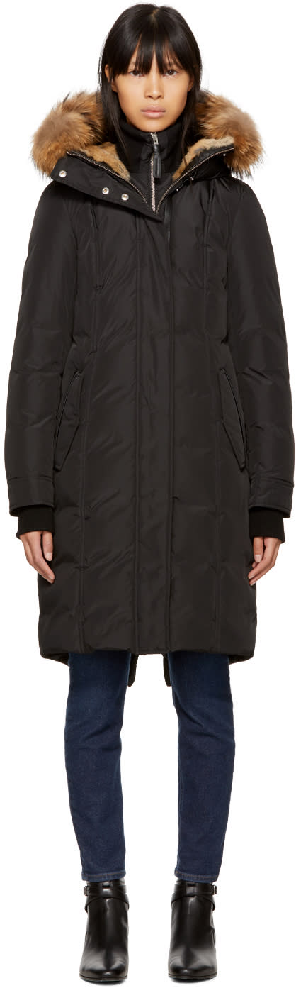 Image of Mackage Black Down Harlin Coat