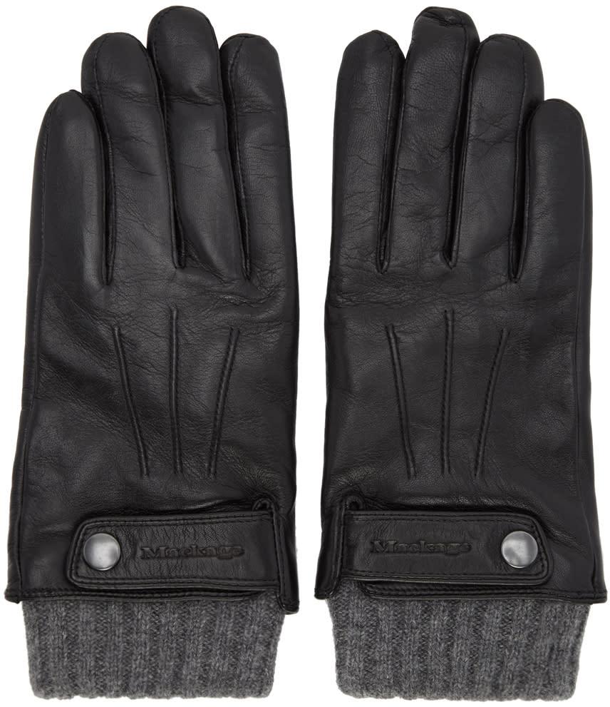 Image of Mackage Black Brander Gloves