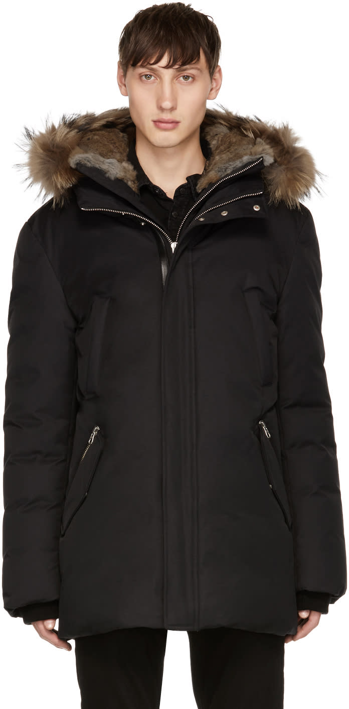 Image of Mackage Black Down Edward Jacket