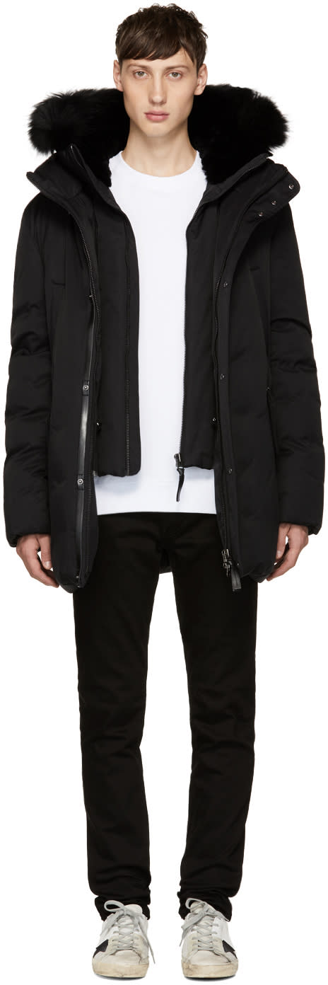 Image of Mackage Black Down Edward-b Jacket