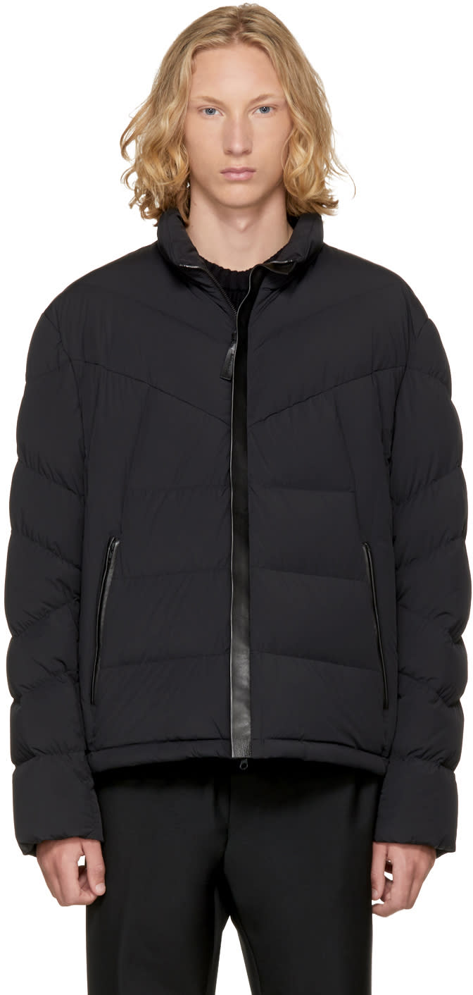 Image of Mackage Black Down Kit Jacket