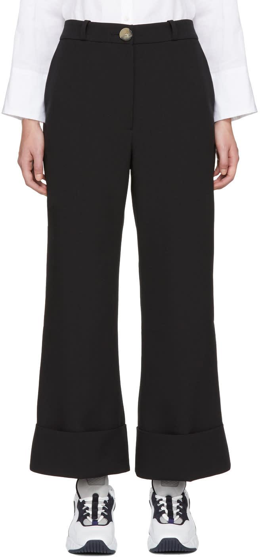Image of A.w.a.k.e. Black Cuffed Trousers