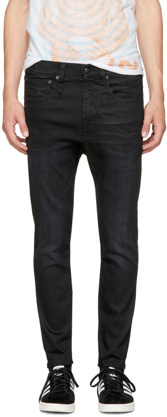 Image of R13 Black Drop Jeans