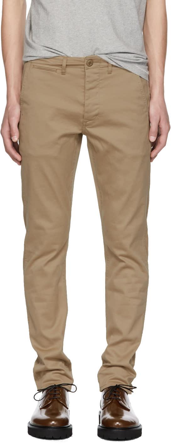 R13 Pantalon Chino Kaki Boy