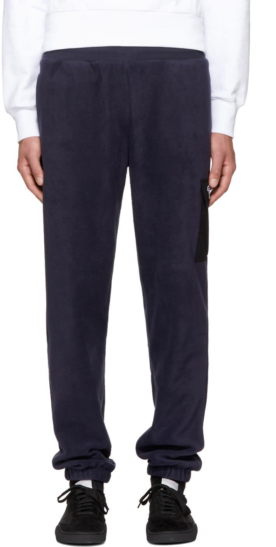 Image of Thames Navy Fleece Lounge Pants