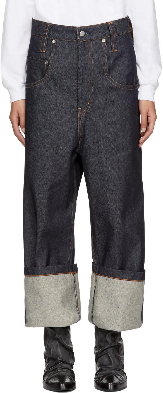 Image of Wheir Bobson Blue Big Details Jeans