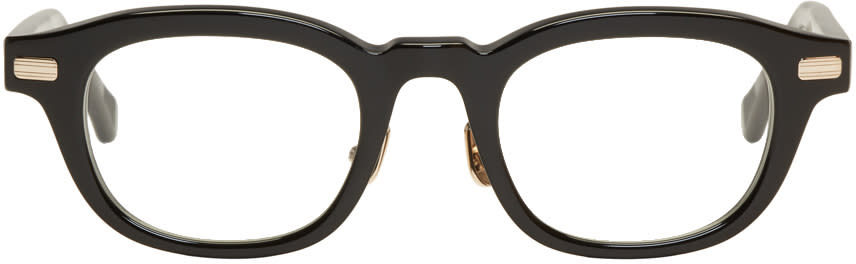 Image of Native Sons Black Clyde Glasses