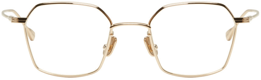 Image of Native Sons Gold Chino Glasses