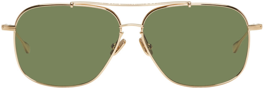 Image of Native Sons Gold Ryder Sunglasses