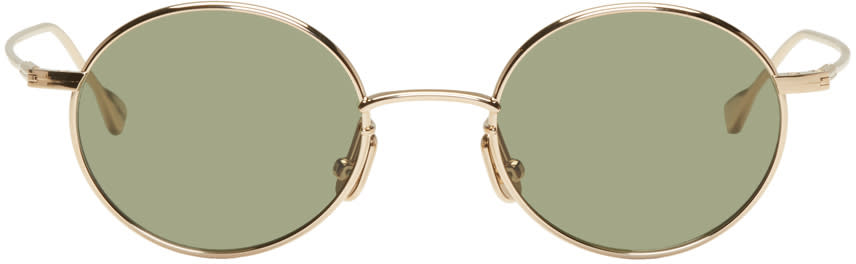 Image of Native Sons Gold 16k Orbit Sunglasses