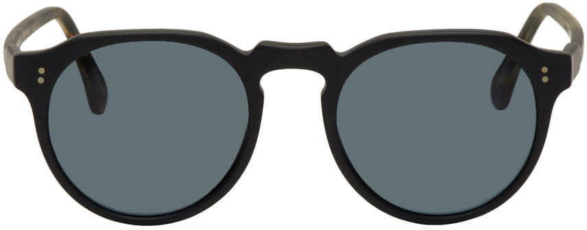 Image of Raen Black and Tortoiseshell Remmy Sunglasses