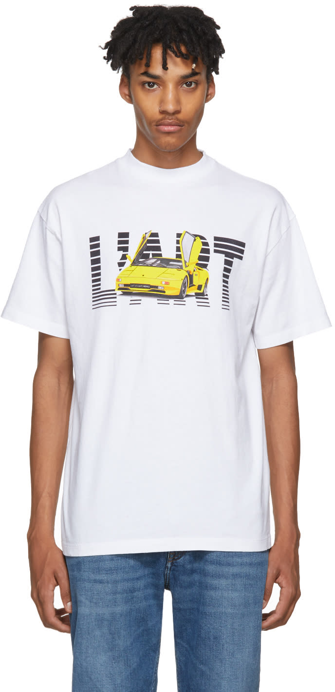 Image of Kar - Lart De Lautomobile White New Lart T-shirt