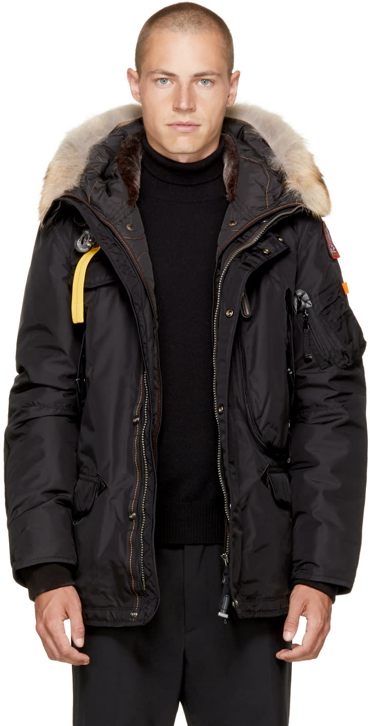 Image of Parajumpers Black Masterpiece Right Hand Jacket