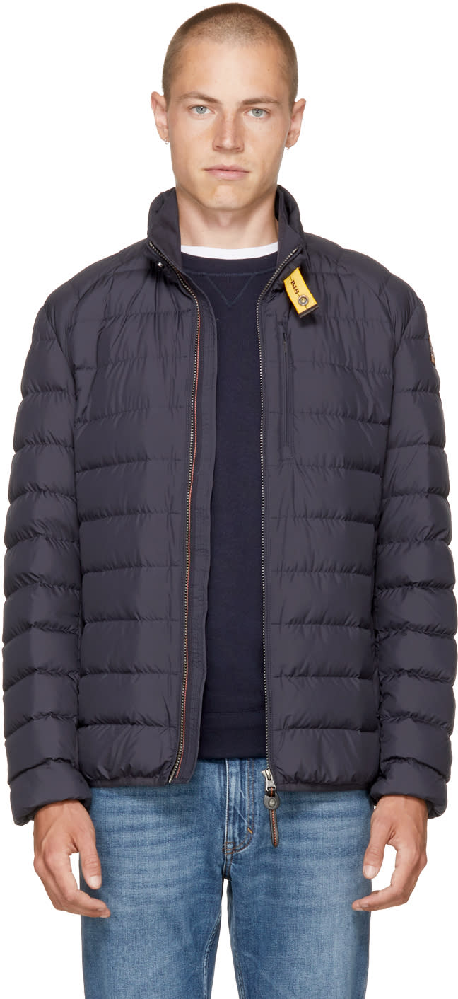 Image of Parajumpers Blue Super Lightweight Ugo Jacket