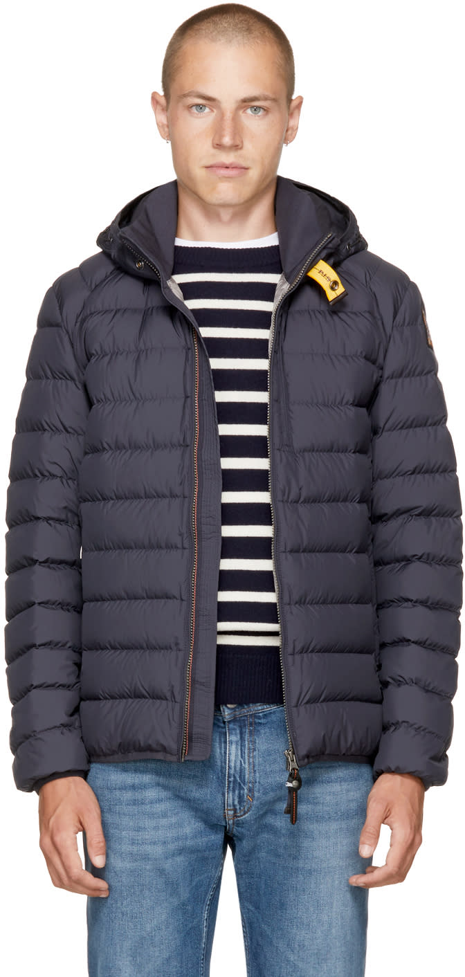Image of Parajumpers Blue Super Lightweight Last Minute Jacket