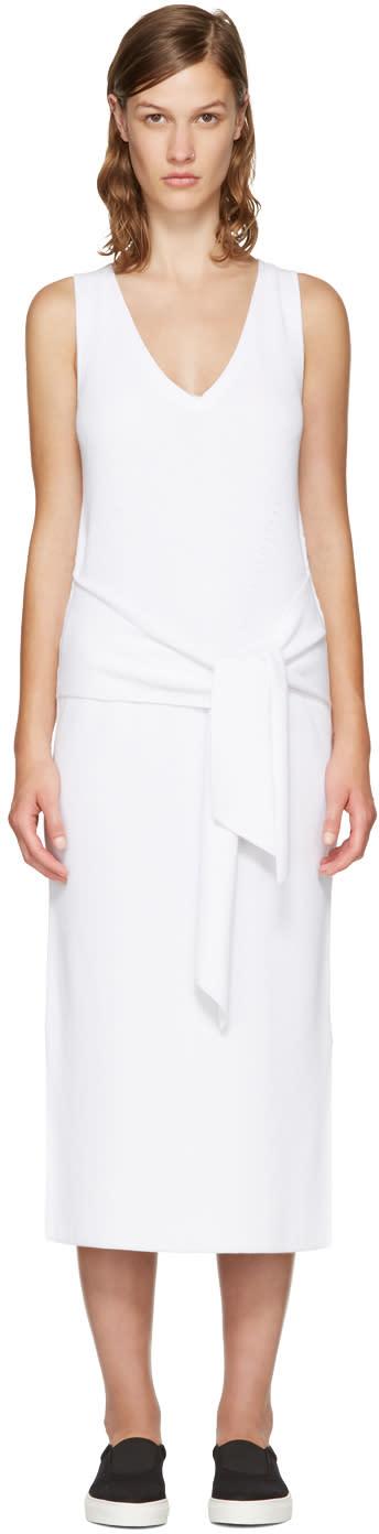 Rag and Bone White Michelle Sweater Dress