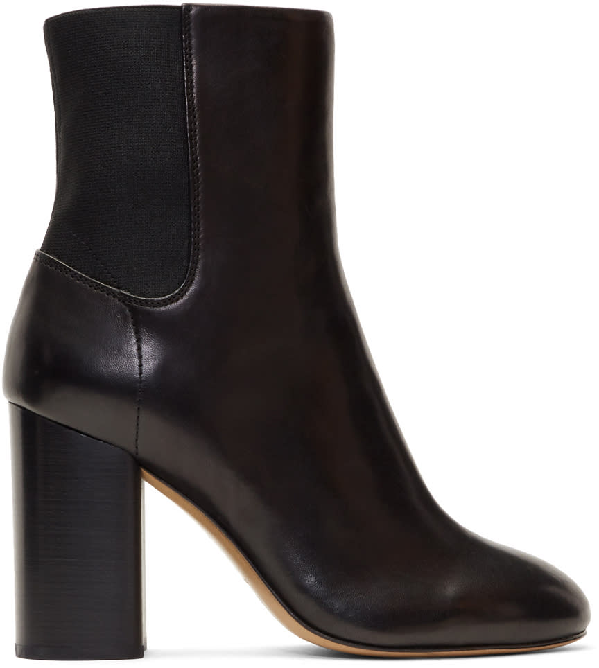 Image of Rag and Bone Black Agnes Boots