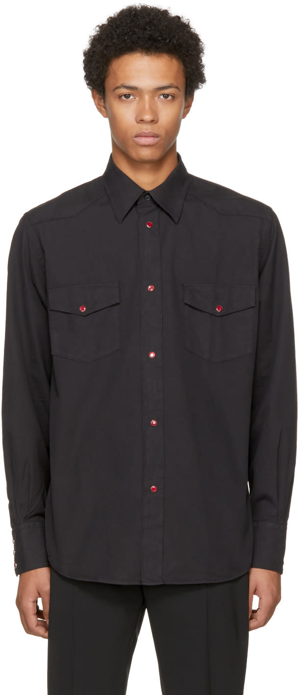 Image of Cobra S.c. Black Western Shirt