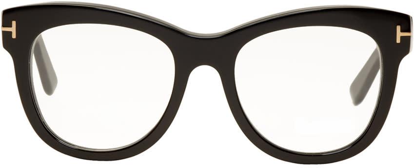 Image of Tom Ford Black Cat Eye Glasses
