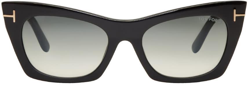 6ae2dfe9e2 Tom Ford Black Kasia Cat eye Sunglasses