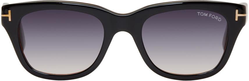 Image of Tom Ford Black Snowdon Sunglasses
