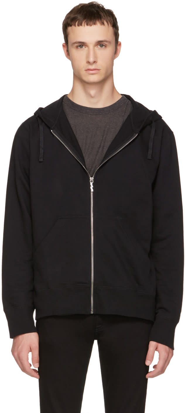 Image of Nudie Jeans Back Loke Light Zip Hoodie