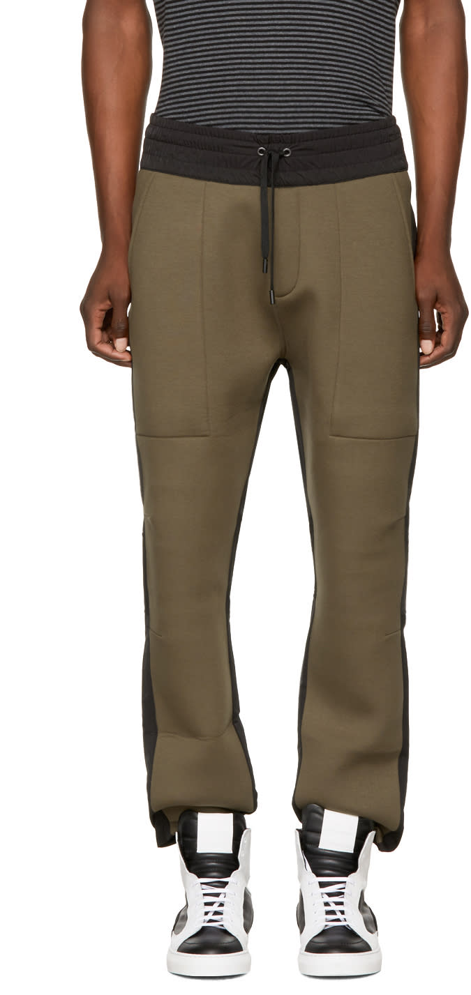 Public School Pantalon De Survêtement Vert Et Noir Ali