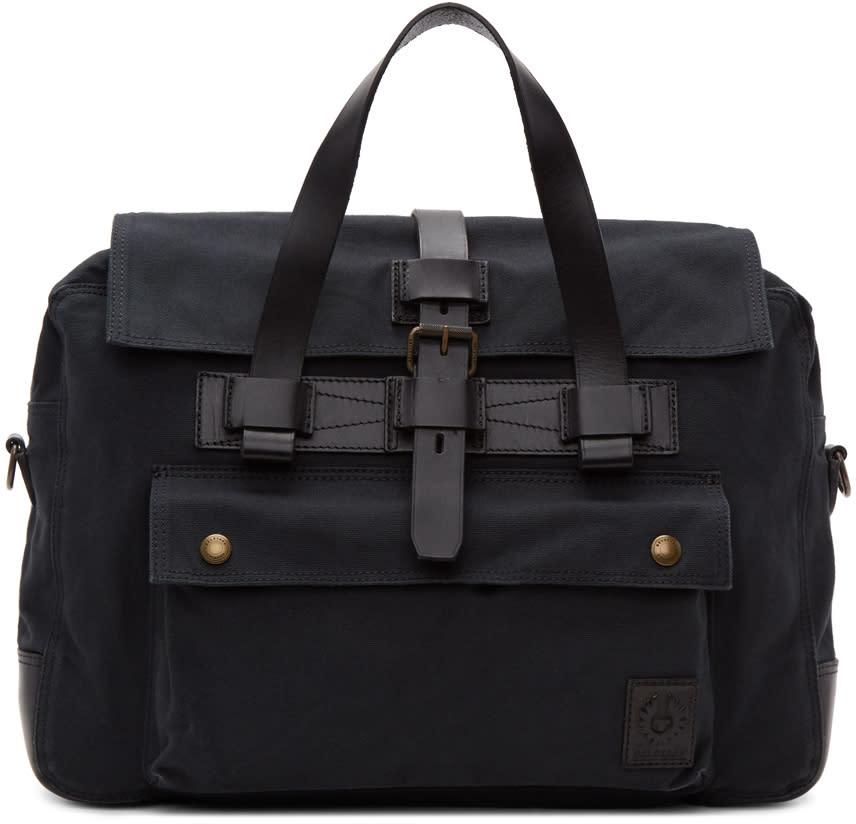 Image of Belstaff Black Colonial Briefcase
