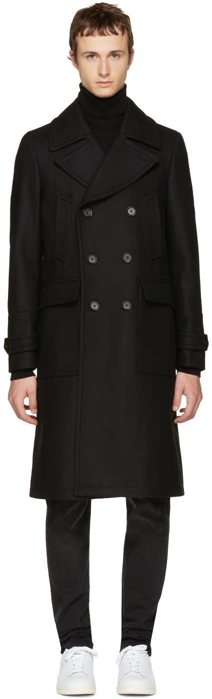 Image of Belstaff Black Milford Coat
