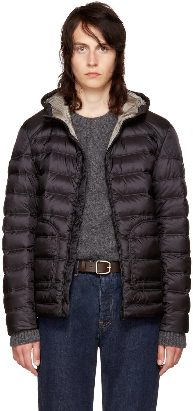 Image of Belstaff Black Down Fullarton Jacket