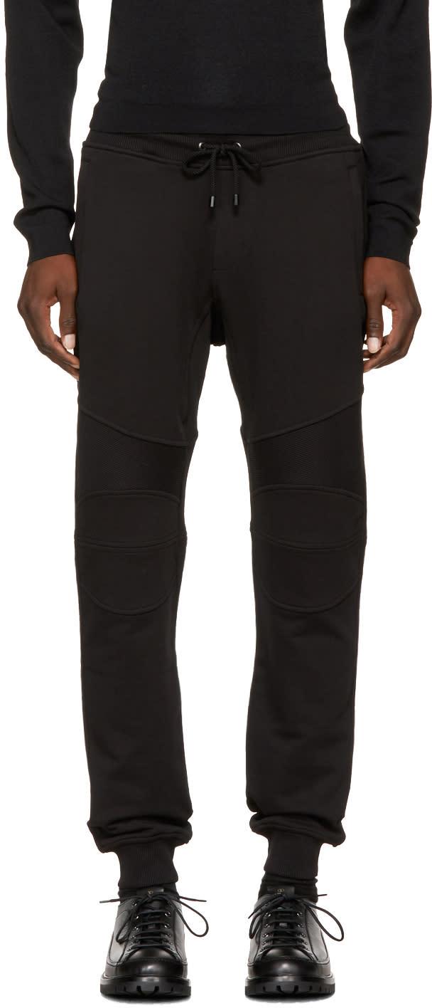 Image of Belstaff Black Ashdown Lounge Pants