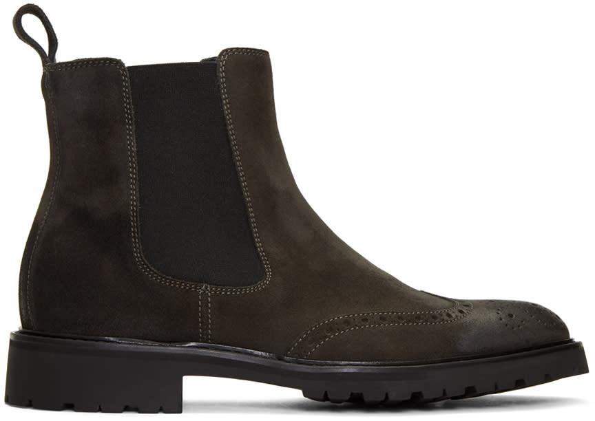 Image of Belstaff Black Lancaster Chelsea Boots