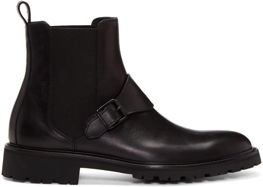 Image of Belstaff Black Plaistow Boots