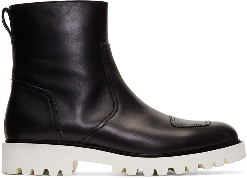 Image of Belstaff Black Bxs Boots