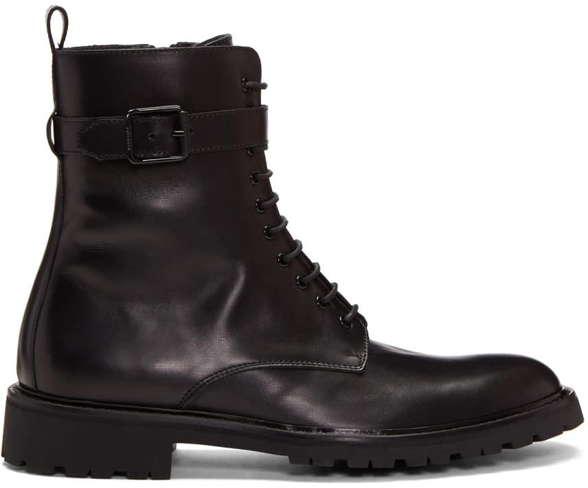 Image of Belstaff Black Paddington Boots