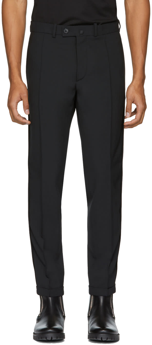 Diesel Black Gold Black Side Detail Trousers