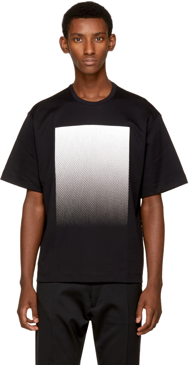 Diesel Black Gold Black Square T Shirt
