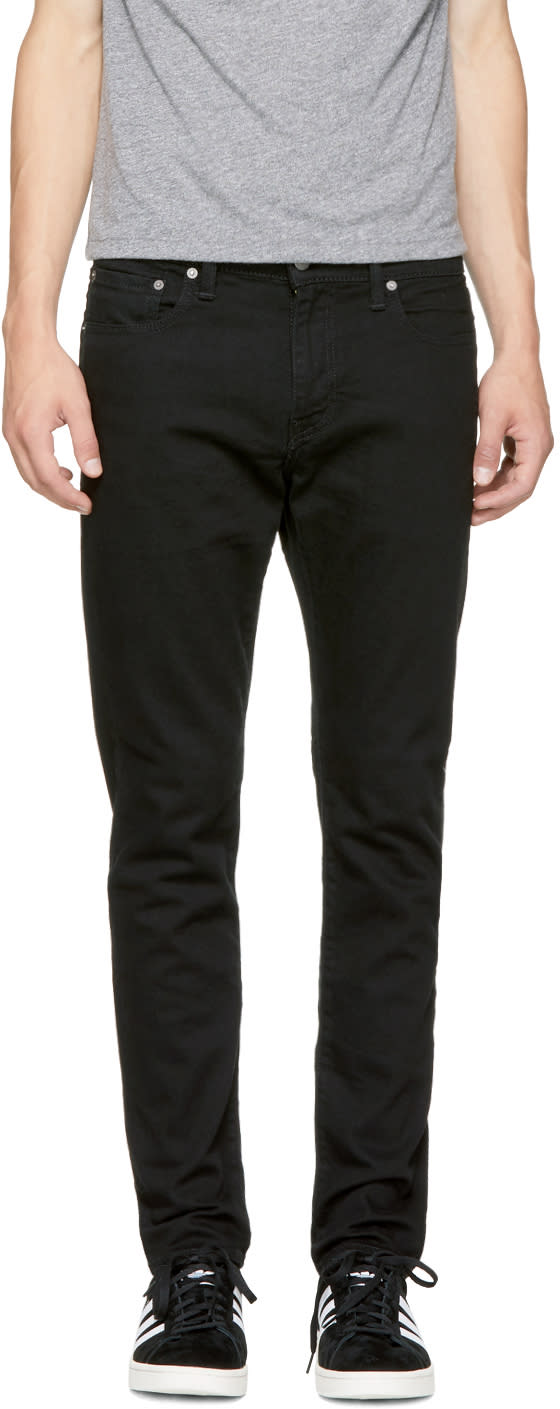 Image of Levis Black 512 Slim Taper Fit Jeans