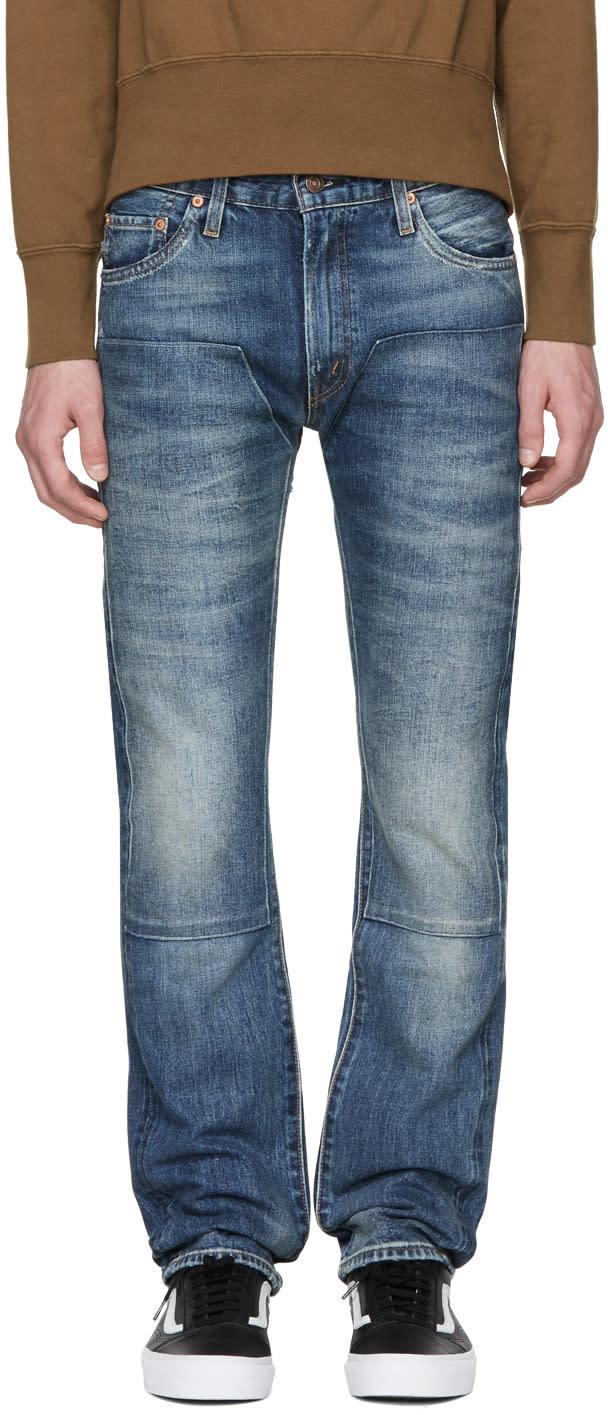Image of Levis Vintage Clothing Blue 1967 505 Jeans