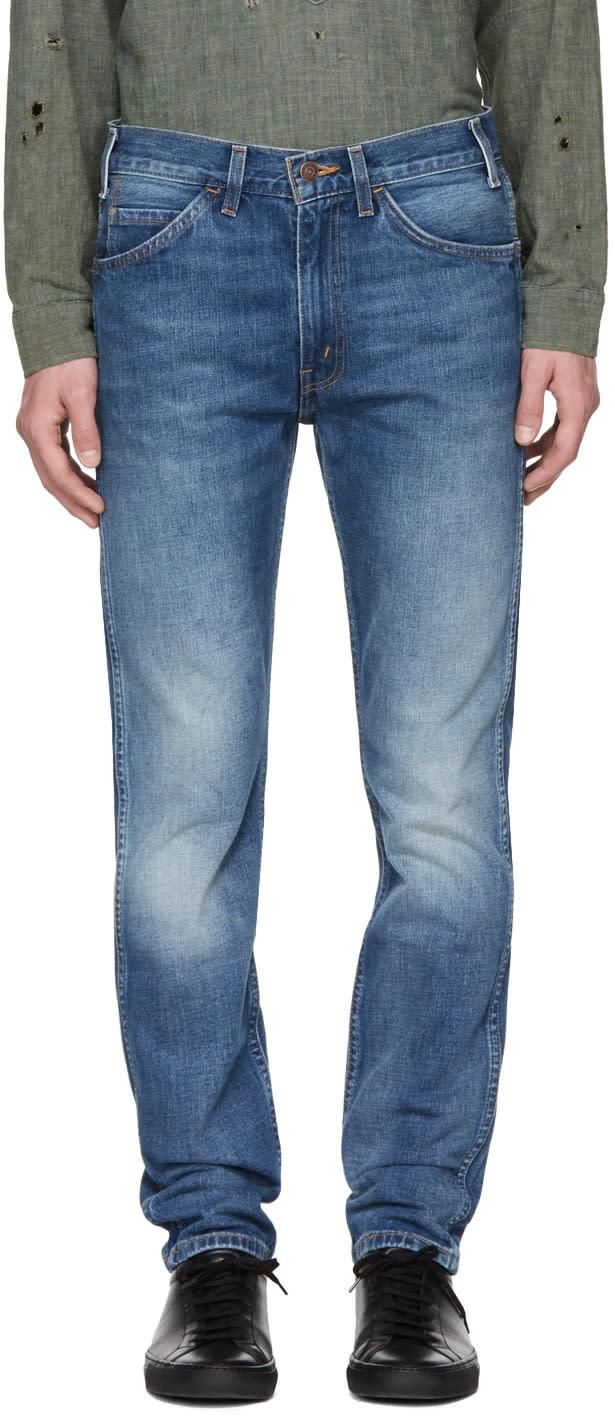Image of Levis Vintage Clothing Blue 1969 606 Jeans
