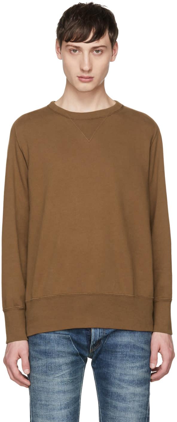 Image of Levis Vintage Clothing Tan Bay Meadows Sweatshirt