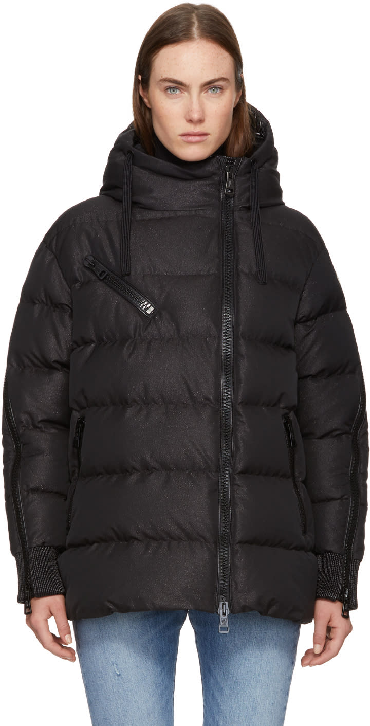 Moncler Black Oversized Down Liriope Jacket