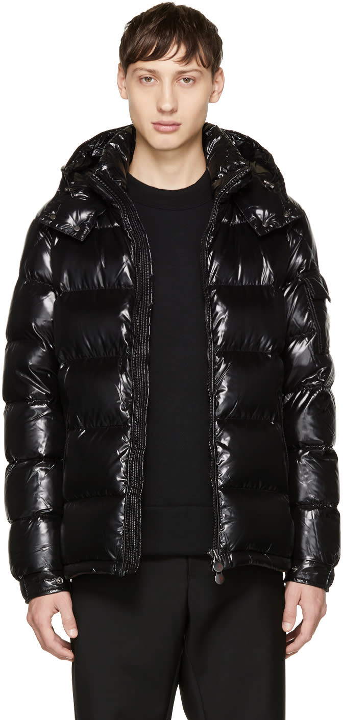 3125f8f62 Moncler Black Down Maya Jacket