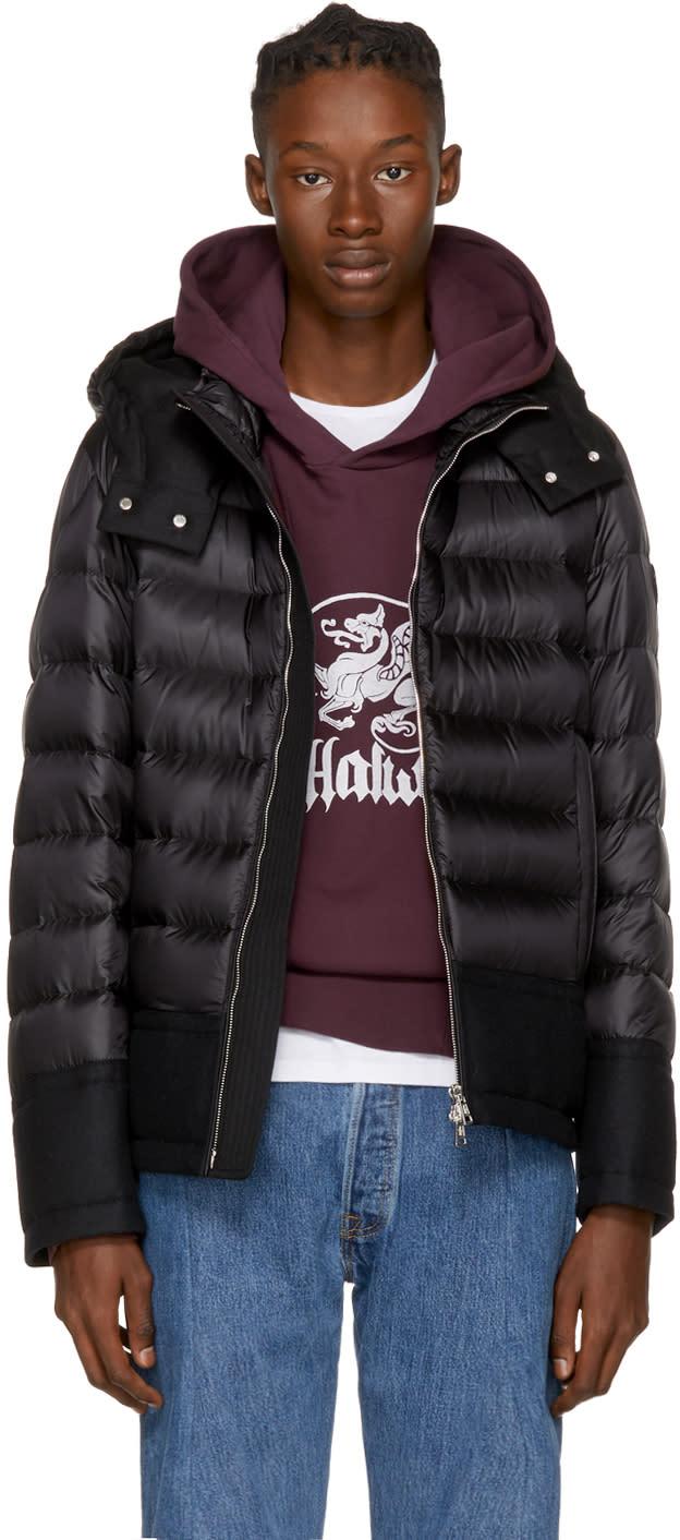 Moncler Black Down Riom Jacket